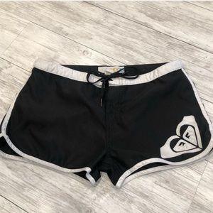 Roxy Black Swim Shorts size 4